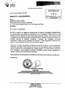 Documento Odebrecht