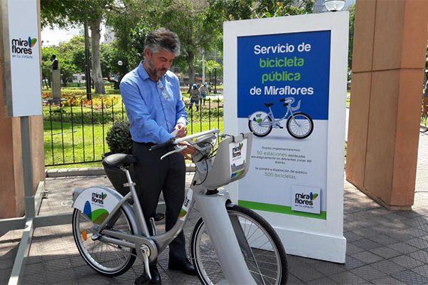 Servicio de bicicleta pública
