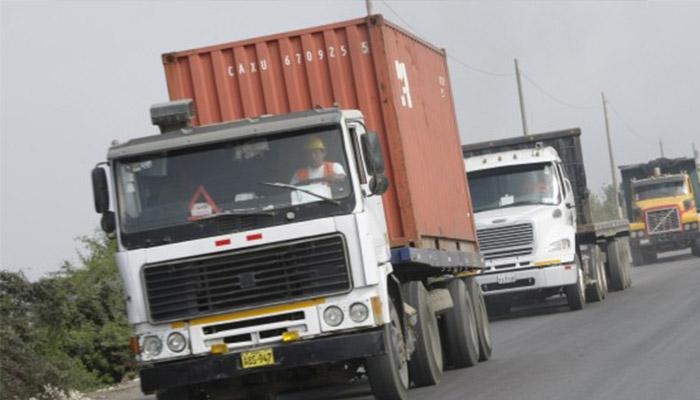 Huelga de transportistas de carga