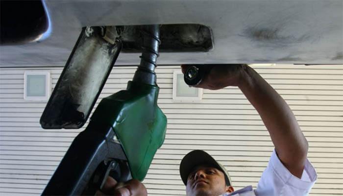 Despachando combustible