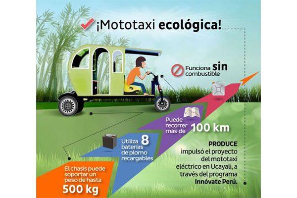 Mototaxi ecológico (eléctrico)
