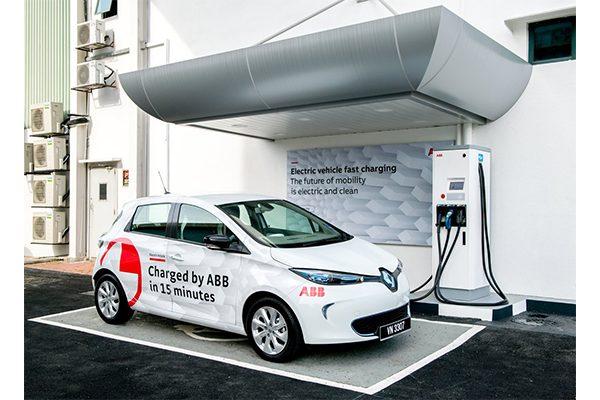 Cargador para autos eléctricos