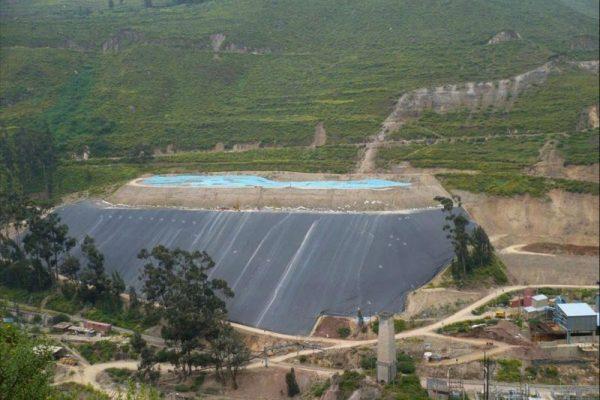 Derrame de sustancias químicas en el río Tingo Maygasbamba