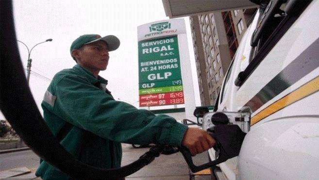 Precios de combustible