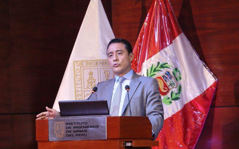 Presidente del IIMP, Ing. Luis Rivera