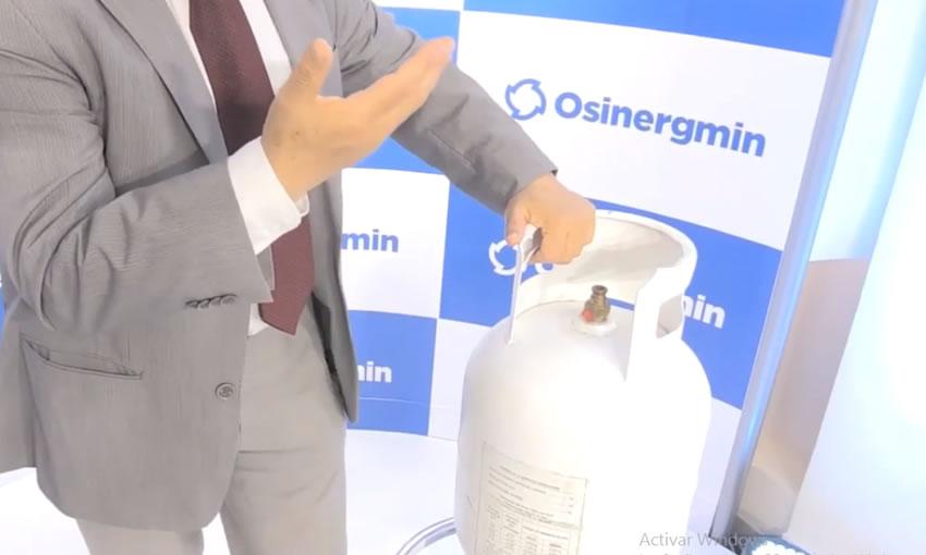 manipular balon de gas